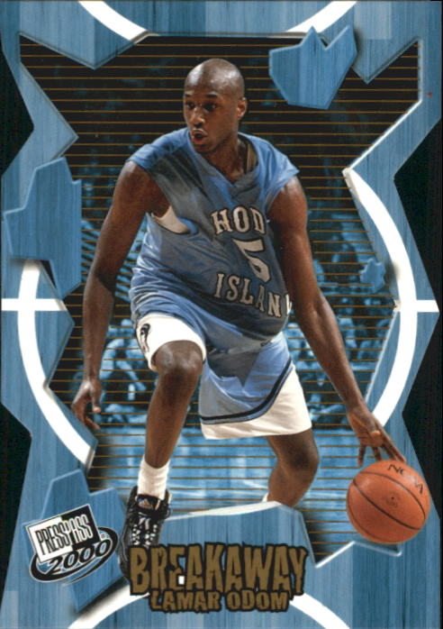 2000 Press Pass Breakaway #BA30 Lamar Odom front image