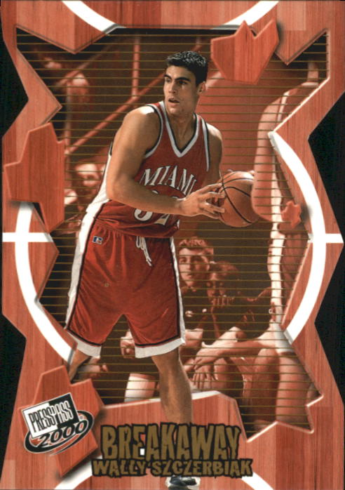 2000 Press Pass Breakaway #BA31 Wally Szczerbiak
