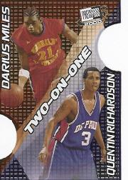 2000 Press Pass SE Two on One #TO1B Darius Miles/Quentin Richardson