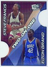 2000 Press Pass SE Two on One #TO4B Elton Brand/Steve Francis