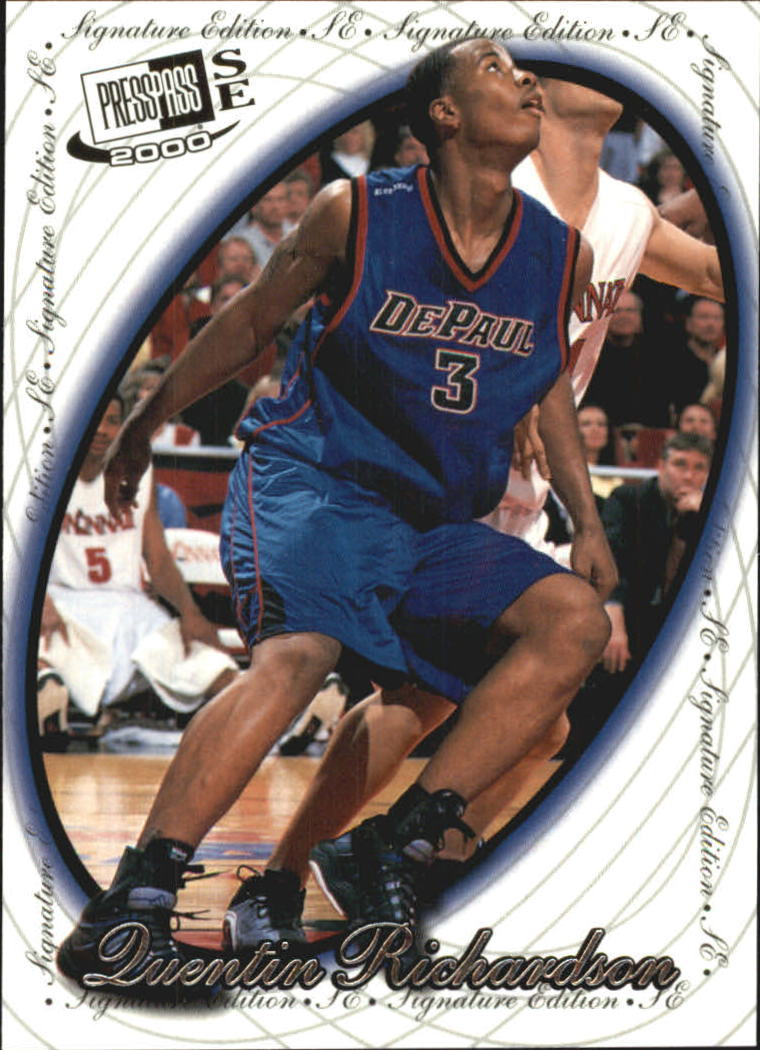 2000 Press Pass SE #10 Quentin Richardson