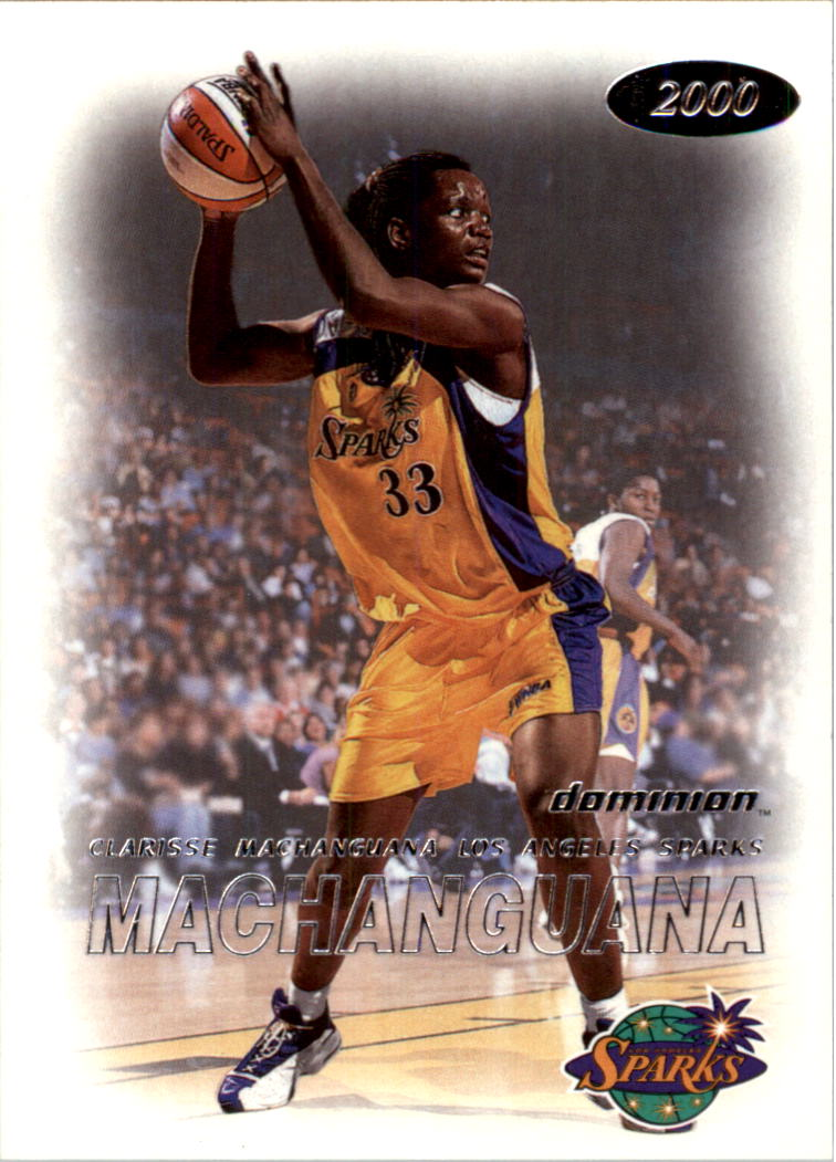 2000 SkyBox Dominion WNBA #3 Clarisse Machanguana RC