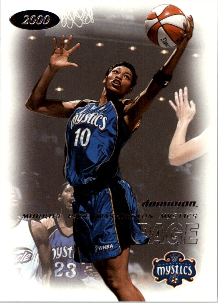 2000 SkyBox Dominion WNBA #84 Murriel Page
