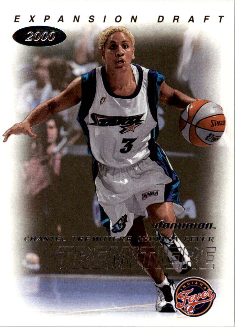 2000 SkyBox Dominion WNBA #111 Chantel Tremitiere ED