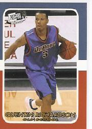 2000 Press Pass SE Old School #OS9 Quentin Richardson
