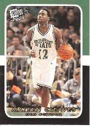 2000 Press Pass SE Old School #OS27 Mateen Cleaves CL