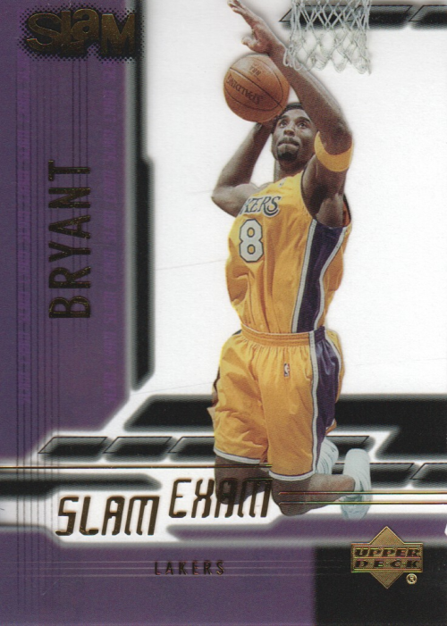 2000-01 Upper Deck Slam Slam Exam #SE1 Kobe Bryant