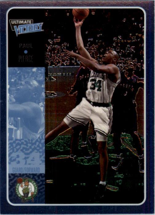 2000-01 Ultimate Victory #3 Paul Pierce