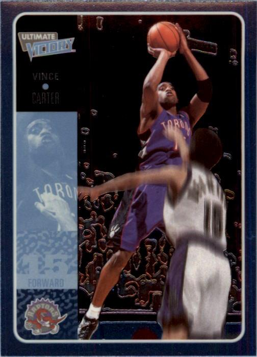 2000-01 Ultimate Victory #53 Vince Carter