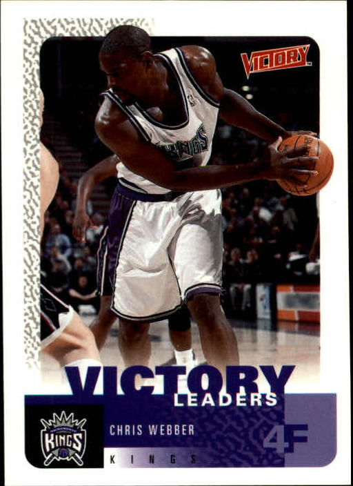 2000-01 Upper Deck Victory #254 Chris Webber VL