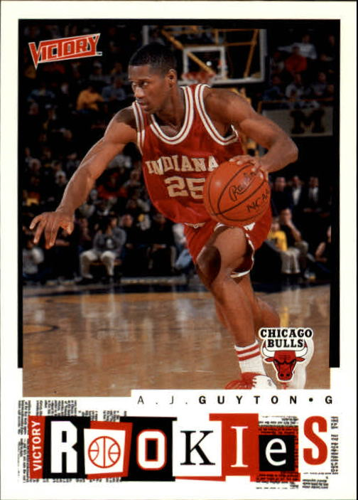 2000-01 Upper Deck Victory #272 A.J. Guyton RC