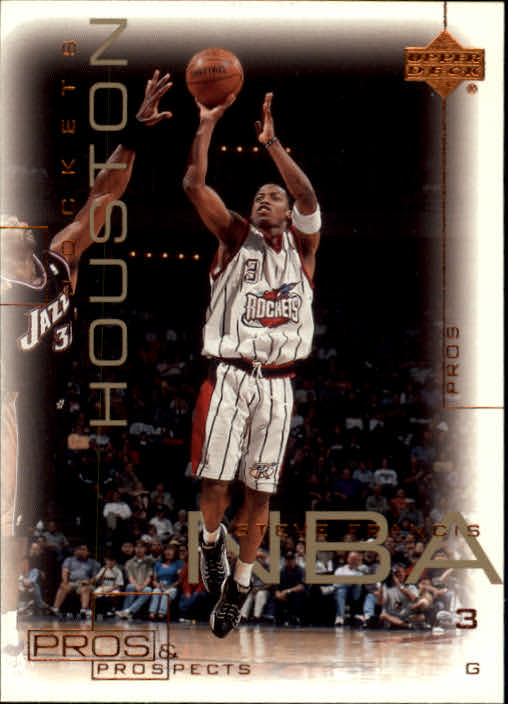 2000-01 Upper Deck Pros and Prospects #28 Steve Francis front image
