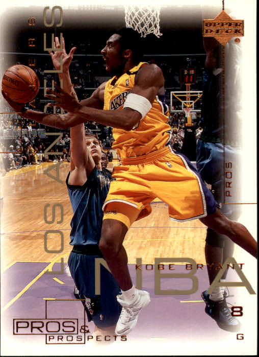 2000-01 Upper Deck Pros and Prospects #37 Kobe Bryant