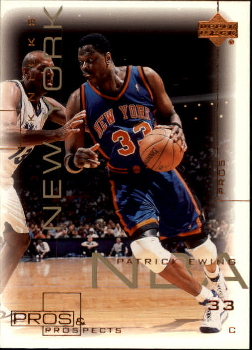 2000-01 Upper Deck Pros and Prospects #56 Patrick Ewing
