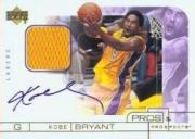 2000-01 Upper Deck Pros and Prospects Signature Jerseys #KB Kobe Bryant
