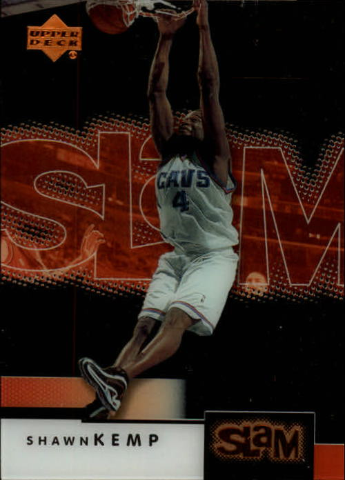 2000-01 Upper Deck Slam #11 Shawn Kemp front image