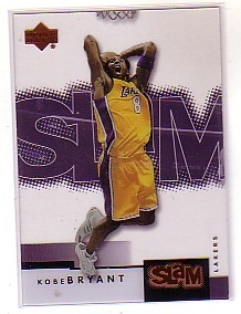 2000-01 Upper Deck Slam #27 Kobe Bryant