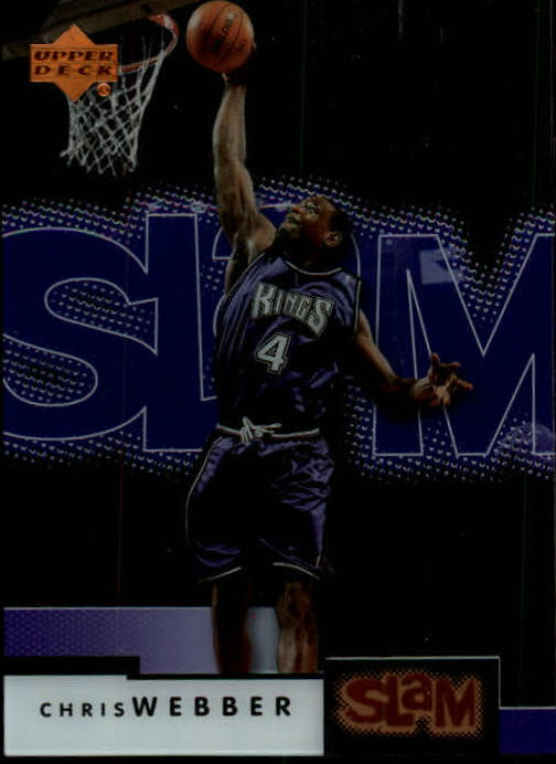 2000-01 Upper Deck Slam #47 Chris Webber
