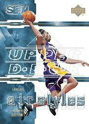 2000-01 Upper Deck Slam Air Styles #AS8 Kobe Bryant