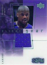 2000-01 Upper Deck Slam Flight Gear #SOG Shaquille O'Neal