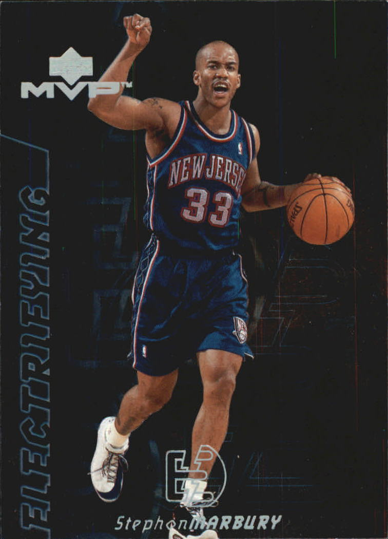 2000-01 Upper Deck MVP Electrifying #E2 Stephon Marbury