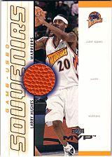 2000-01 Upper Deck MVP Game-Used Souvenirs #LHS Larry Hughes