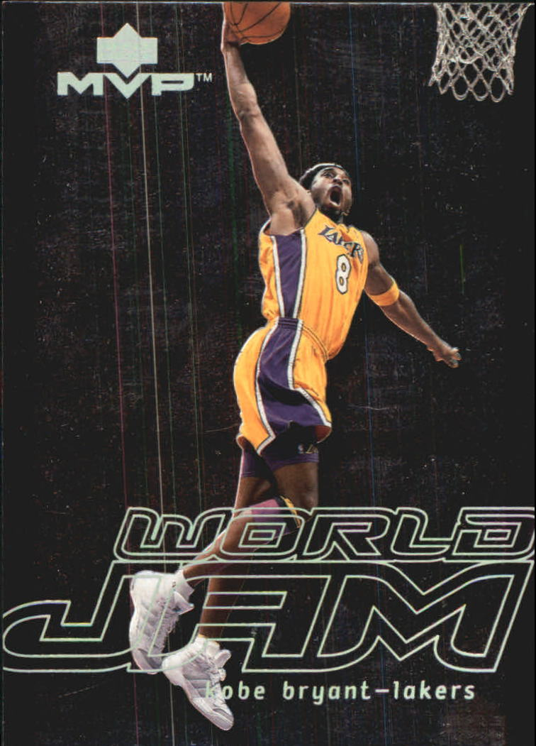 2000-01 Upper Deck MVP World Jam #WJ1 Kobe Bryant