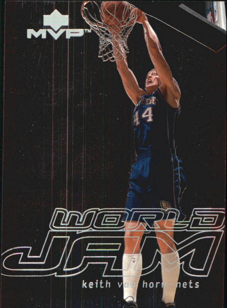 2000-01 Upper Deck MVP World Jam #WJ4 Keith Van Horn