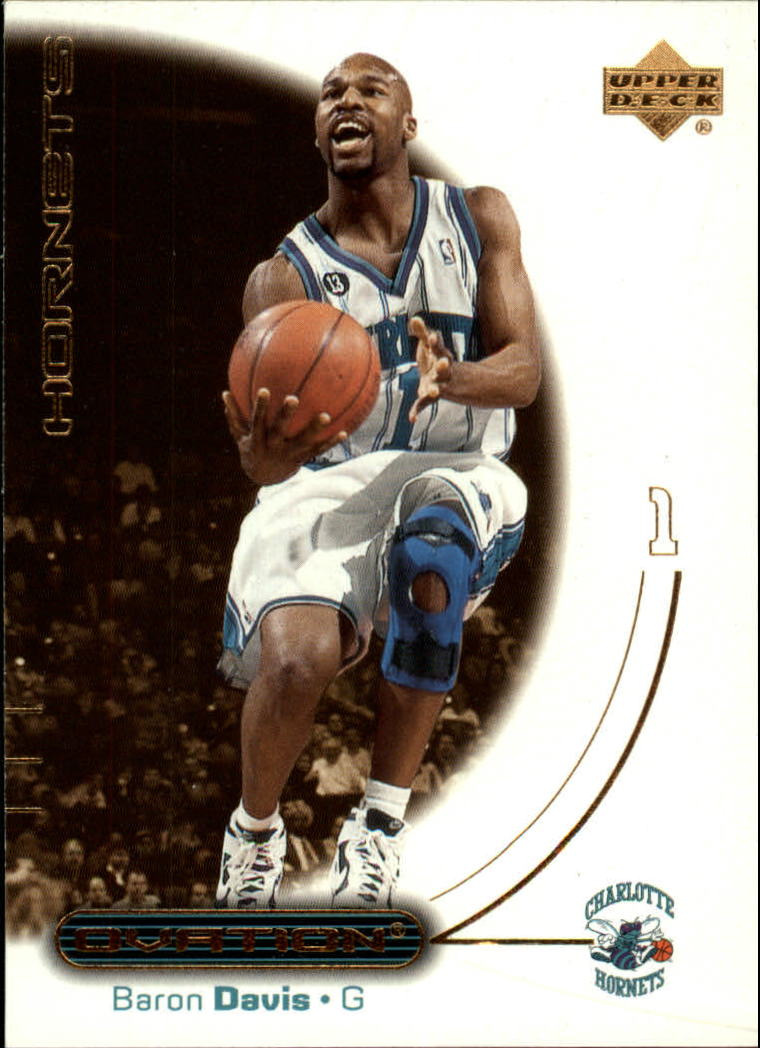 2000-01 Upper Deck Ovation #6 Baron Davis