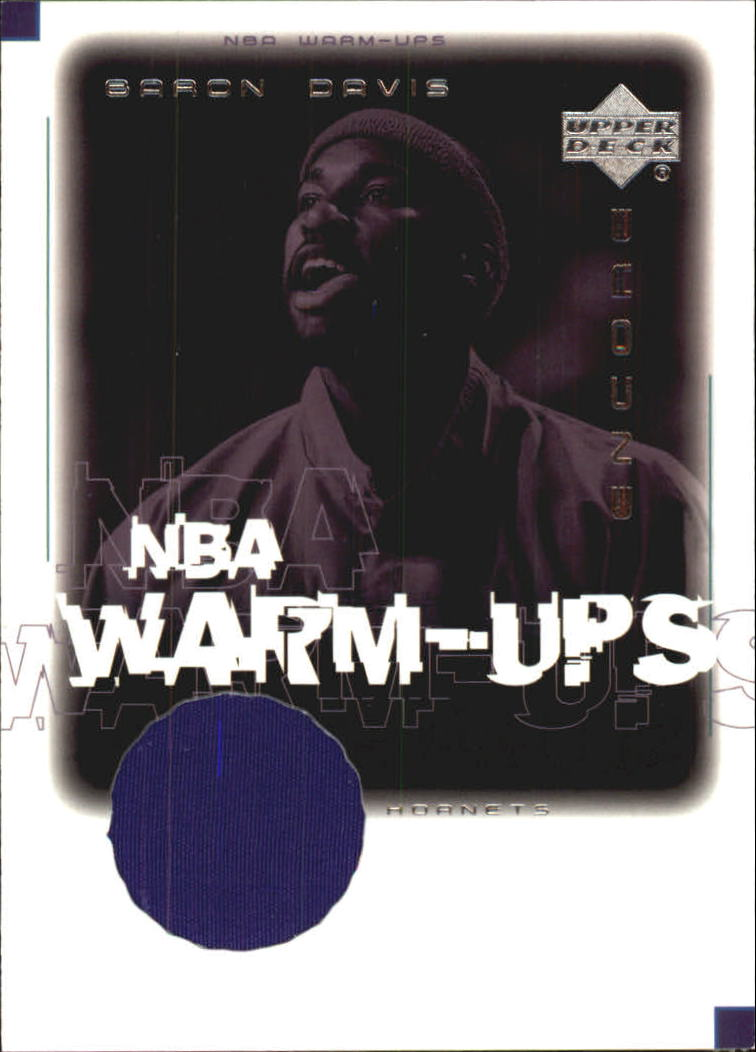 2000-01 Upper Deck Encore NBA Warm-Ups #BDW Baron Davis
