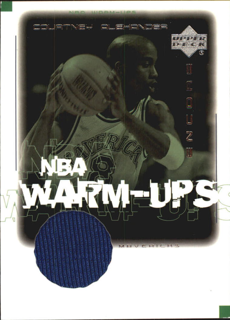 2000-01 Upper Deck Encore NBA Warm-Ups #CAW Courtney Alexander