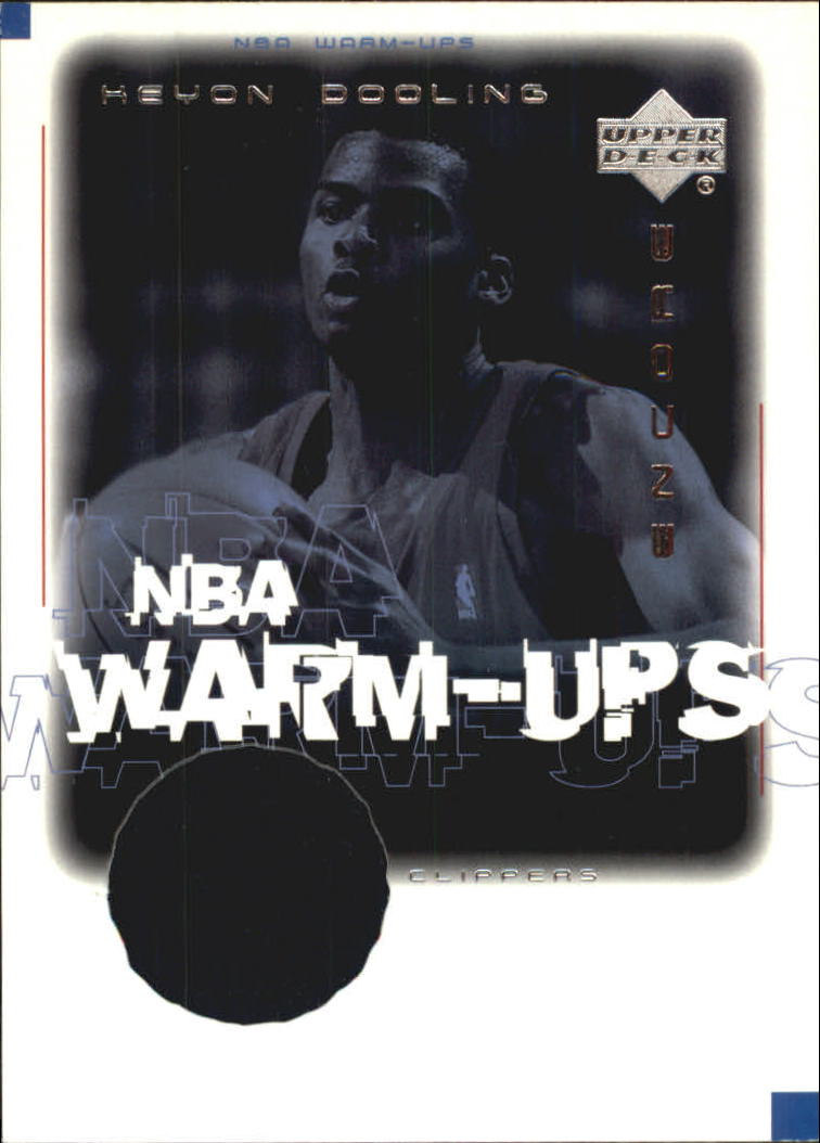 2000-01 Upper Deck Encore NBA Warm-Ups #KDW Keyon Dooling