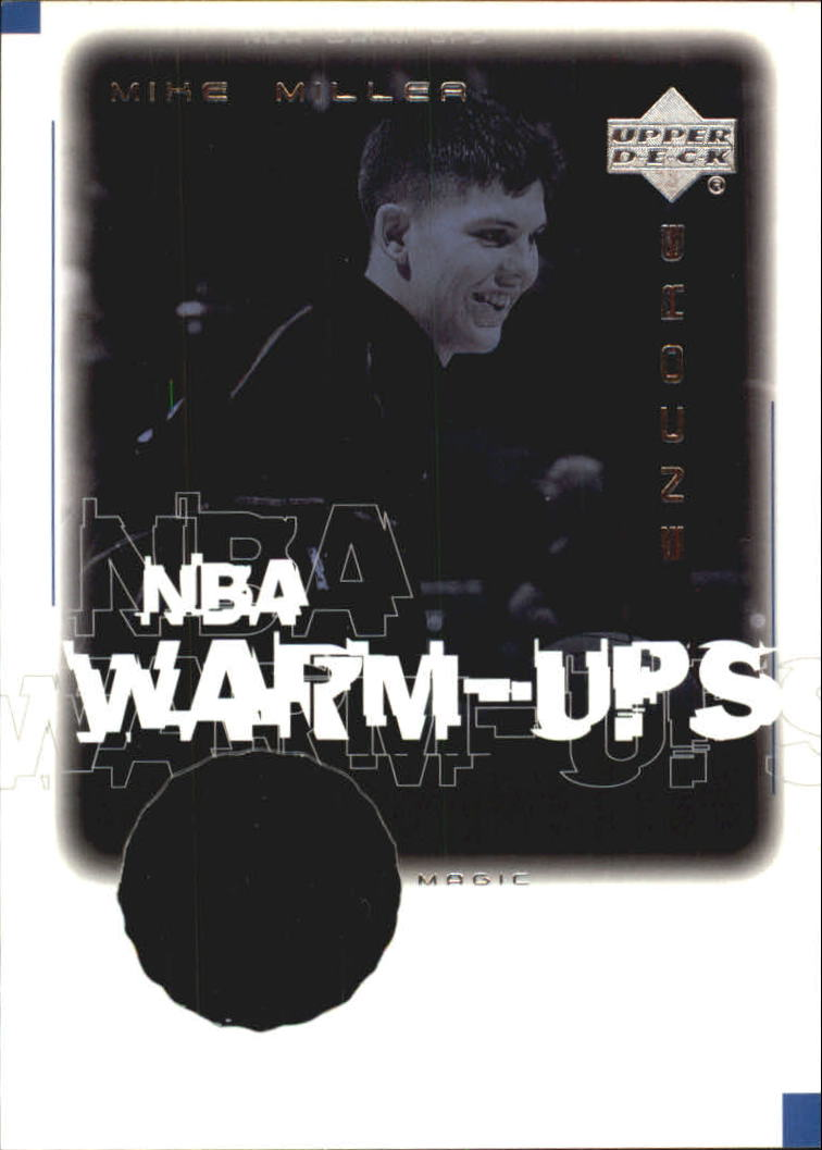 2000-01 Upper Deck Encore NBA Warm-Ups #MMW Mike Miller
