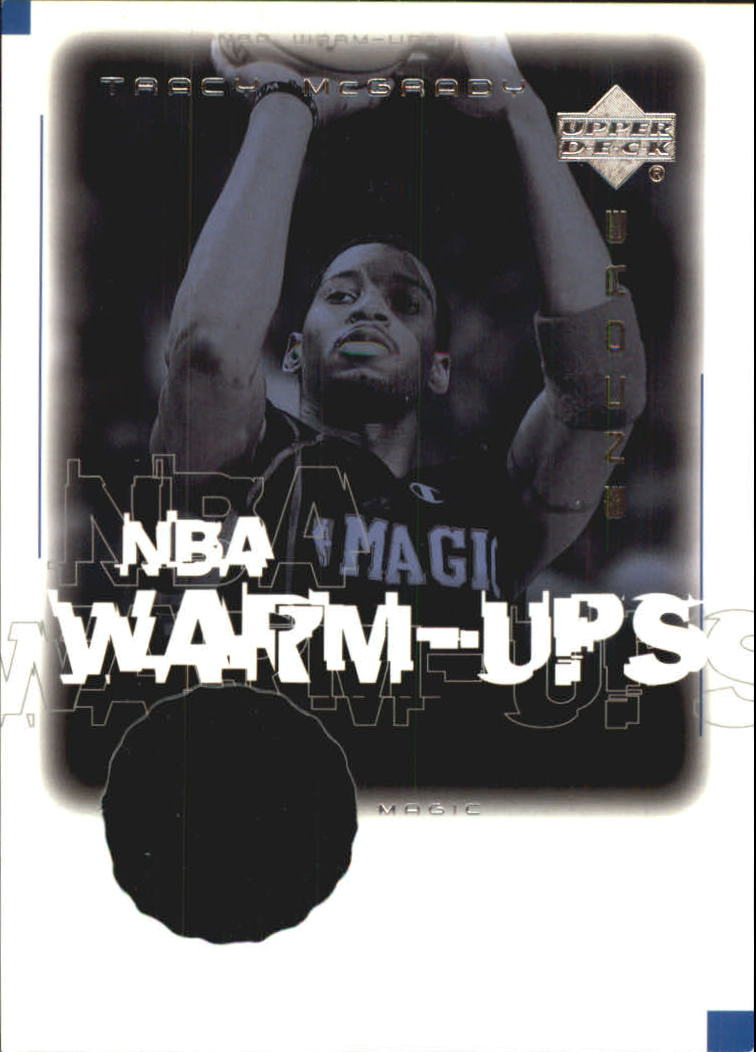 2000-01 Upper Deck Encore NBA Warm-Ups #TMW Tracy McGrady