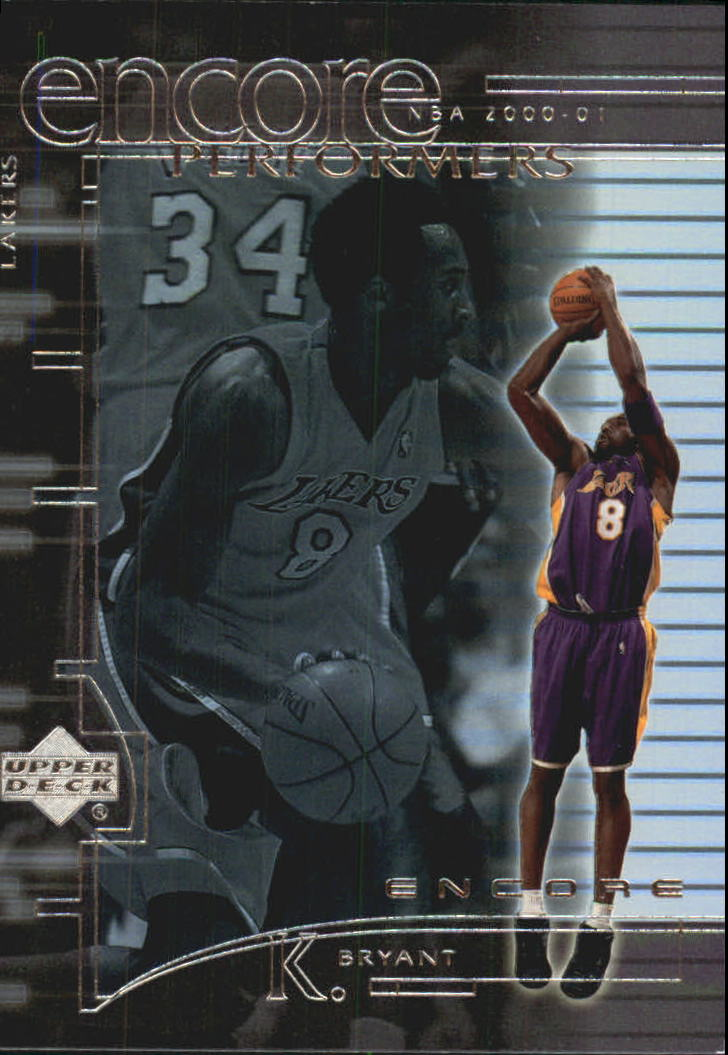 2000-01 Upper Deck Encore Performers #EP9 Kobe Bryant
