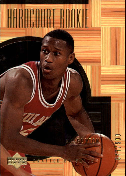 2000-01 Upper Deck Hardcourt #72 A.J. Guyton RC