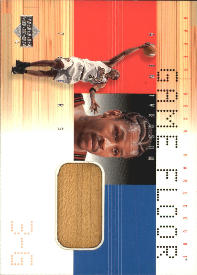 2000-01 Upper Deck Hardcourt Game Floor #AIF Allen Iverson