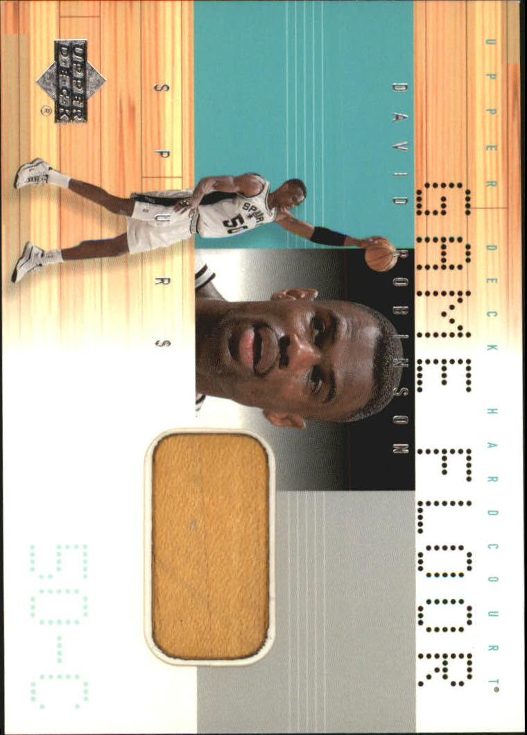 2000-01 Upper Deck Hardcourt Game Floor #DRF David Robinson