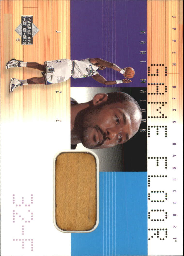 2000-01 Upper Deck Hardcourt Game Floor #KMF Karl Malone