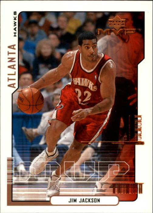 2000-01 Upper Deck MVP #3 Jim Jackson