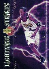 2000-01 Upper Deck Lightning Strikes #LS1 Allen Iverson