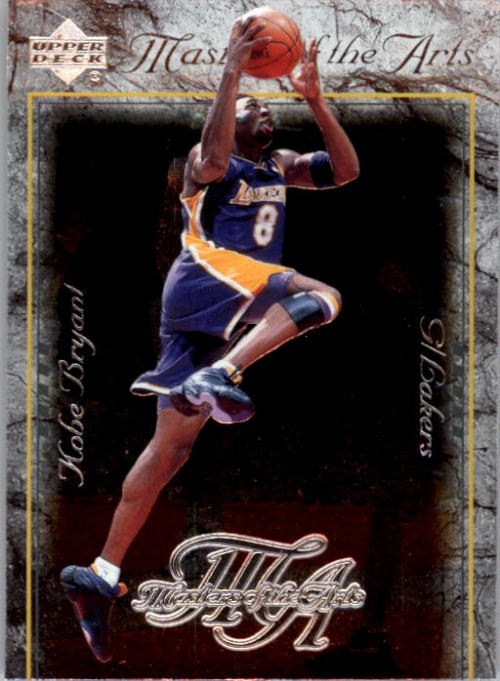 2000-01 Upper Deck Masters of Arts #MA8 Kobe Bryant