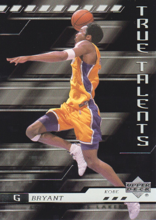 2000-01 Upper Deck True Talents #TT1 Kobe Bryant