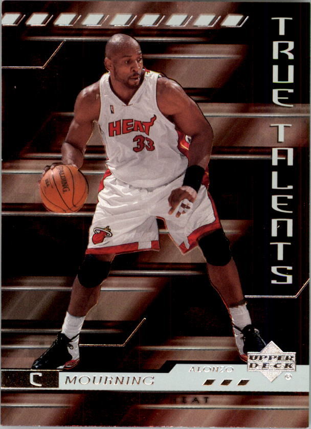 2000-01 Upper Deck True Talents #TT4 Alonzo Mourning