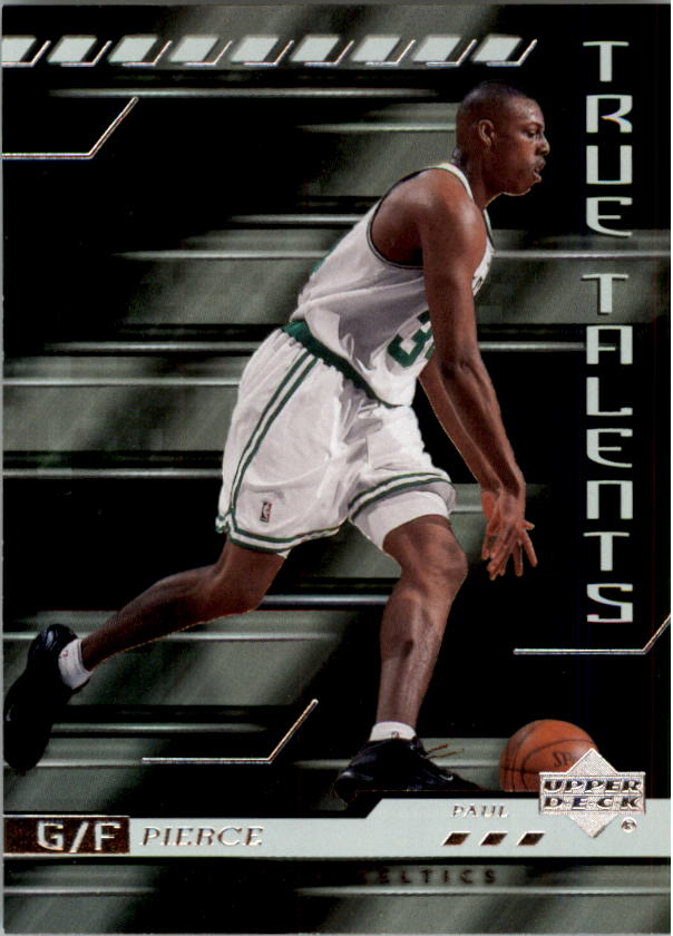 2000-01 Upper Deck True Talents #TT5 Paul Pierce