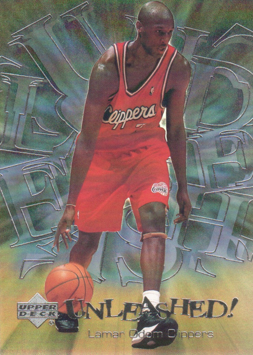 2000-01 Upper Deck Unleashed #U2 Lamar Odom