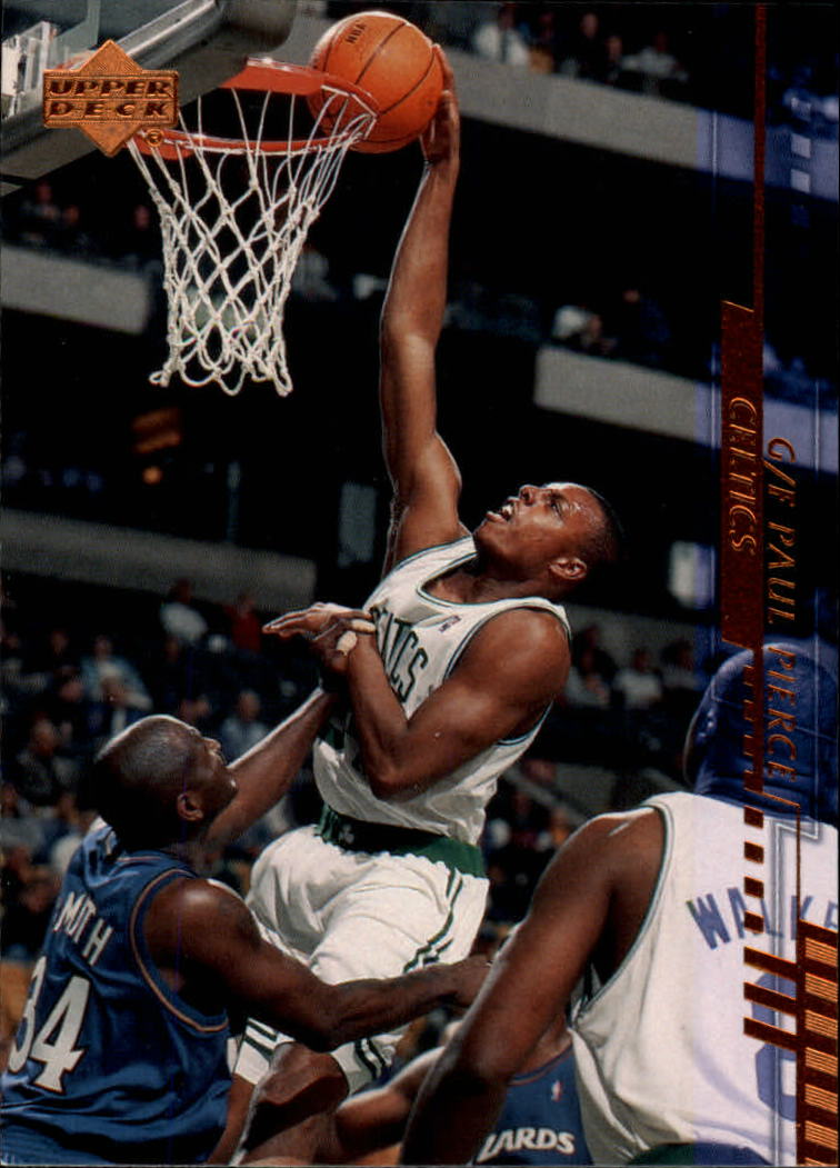 2000-01 Upper Deck #7 Paul Pierce