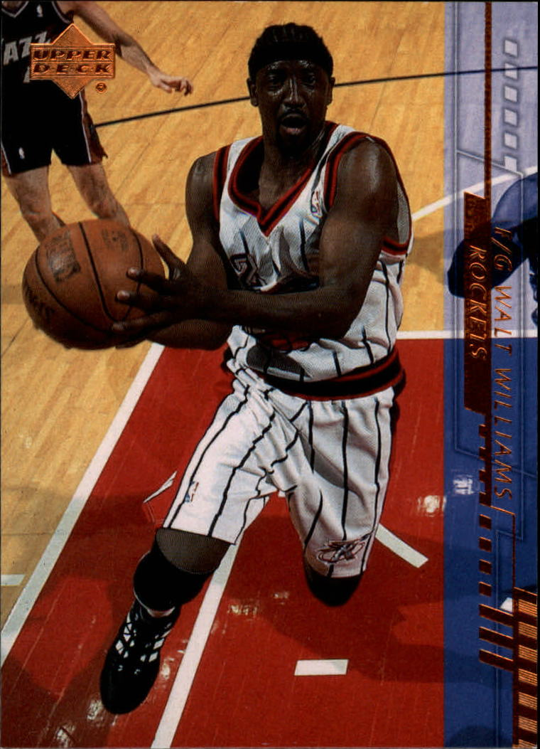 2000-01 Upper Deck #61 Walt Williams