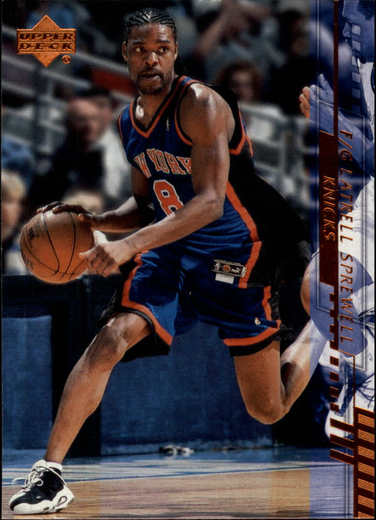 2000-01 Upper Deck #111 Latrell Sprewell