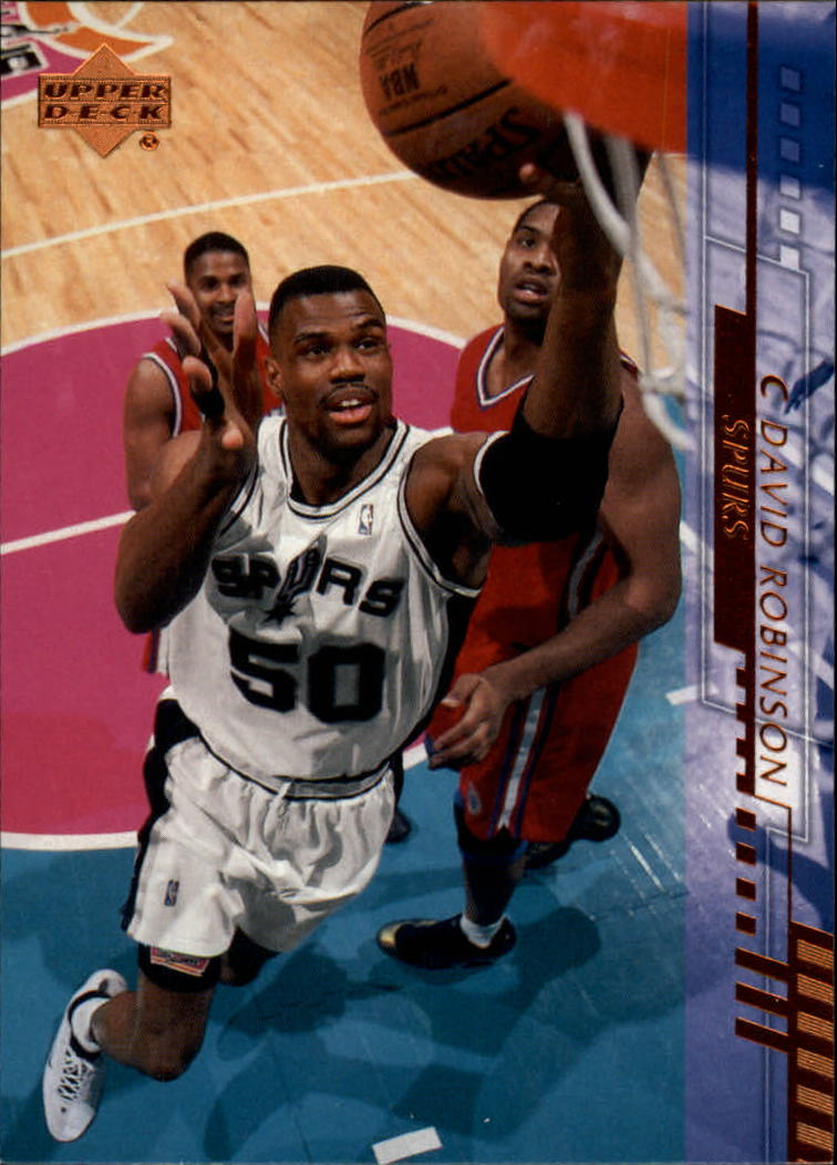 2000-01 Upper Deck #151 David Robinson